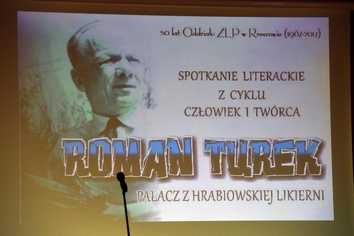 CZŁOWIEK I TWÓRCA ROMAN TUREK – PALACZ Z HRABIOWSKIEJ LIKIERNI